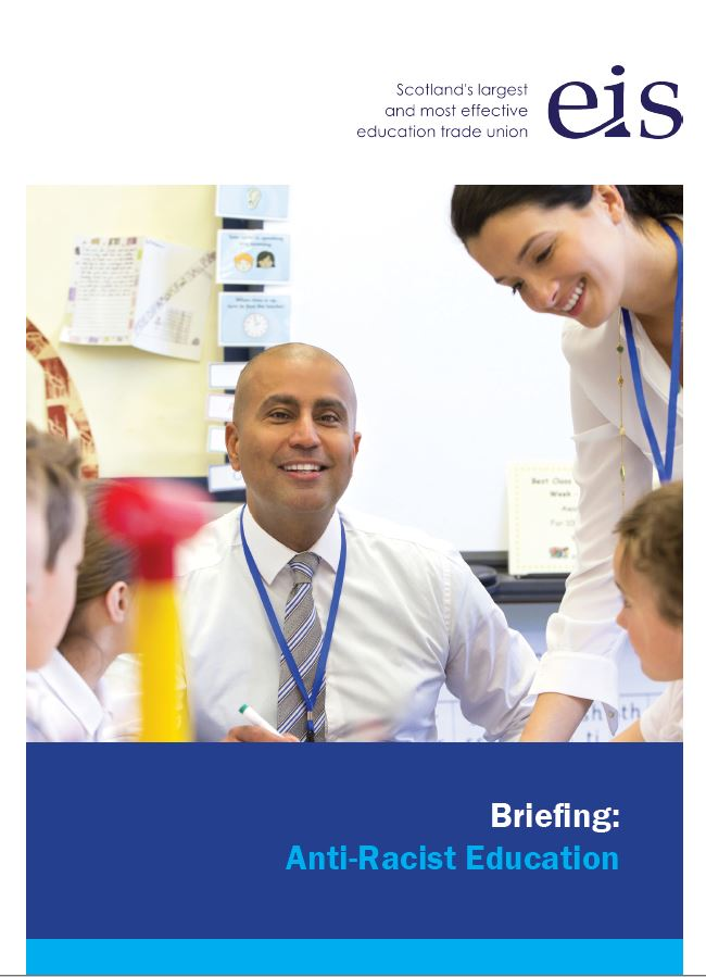 Anti Racist Education Briefing Cover